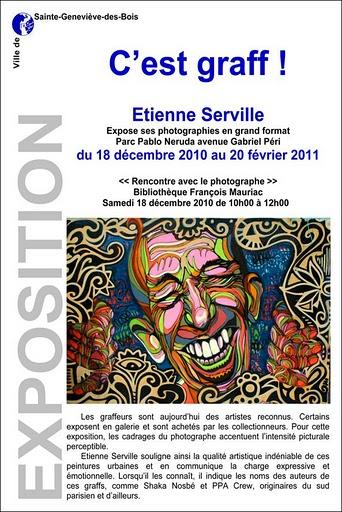 AfficheSERVILLE-PABLOdec-2010 FEV-2011-01